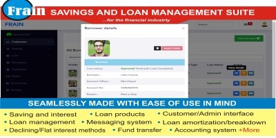 Frain - Savings and Loan Management System