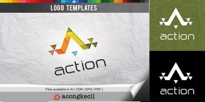 Action - Logo Template