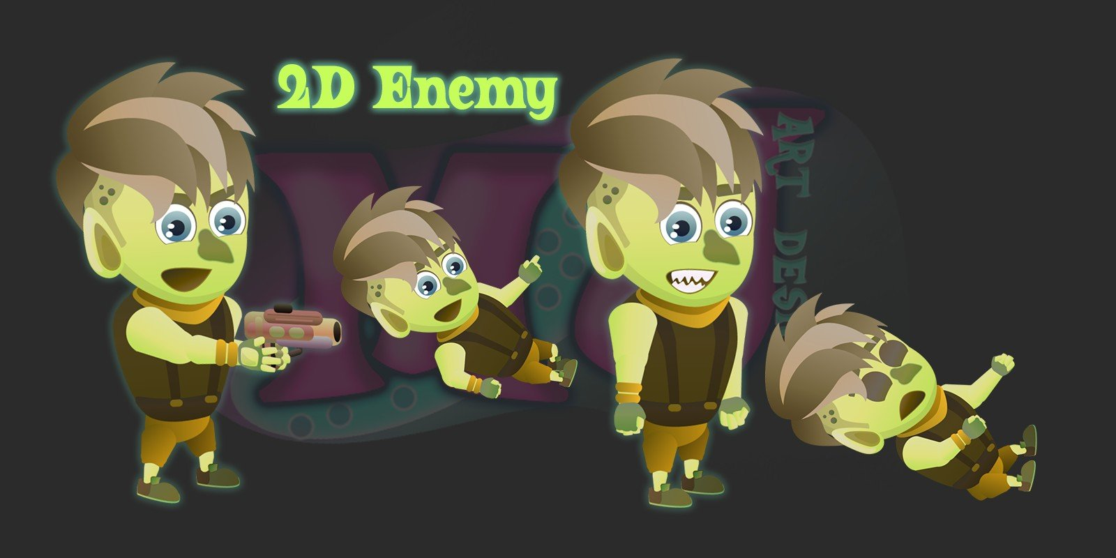 2D Game Enemy 1