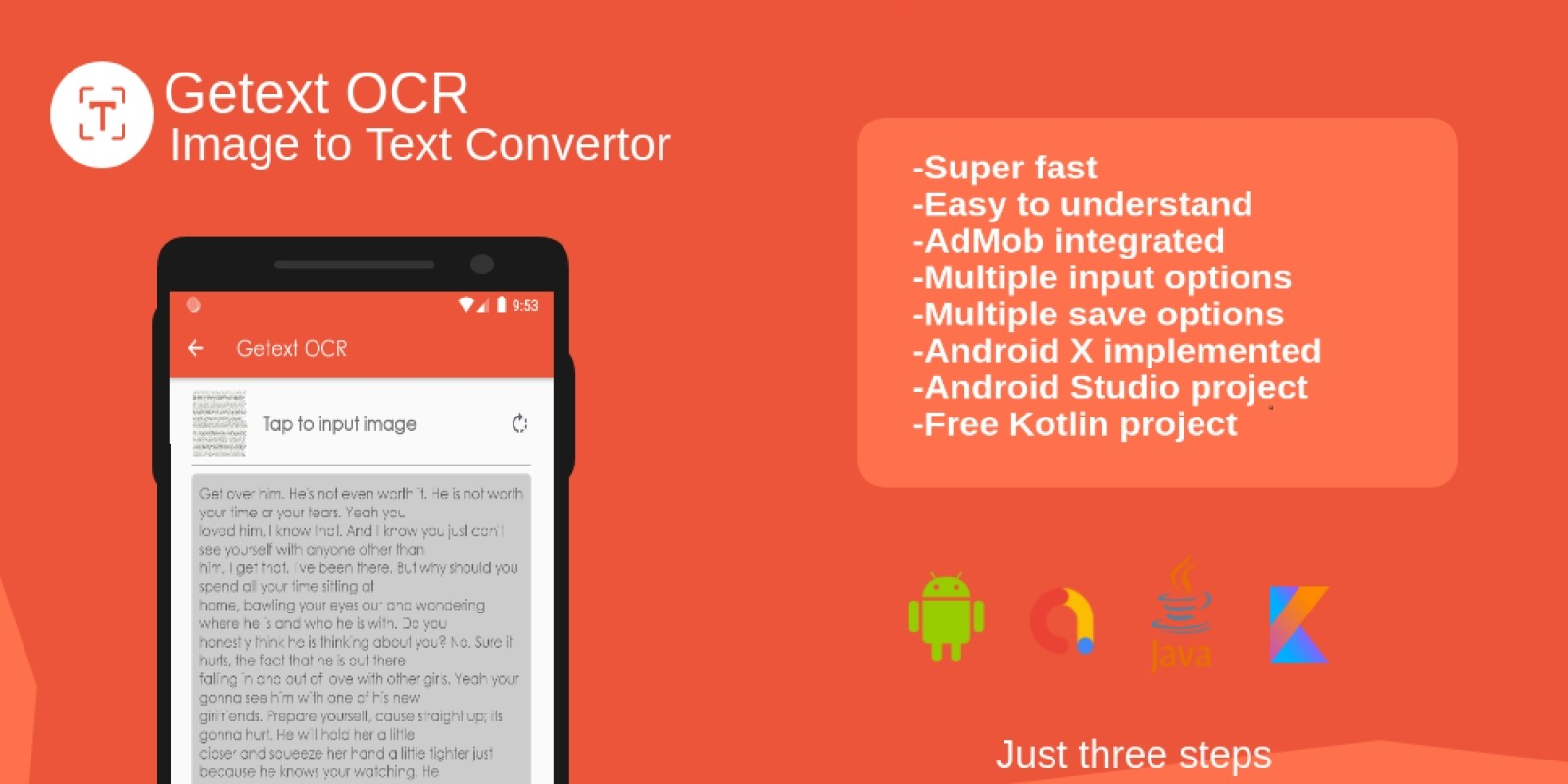 Android OCR Application Source Code | Codester
