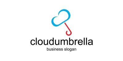 Cloudumbrella Umbrella Logo
