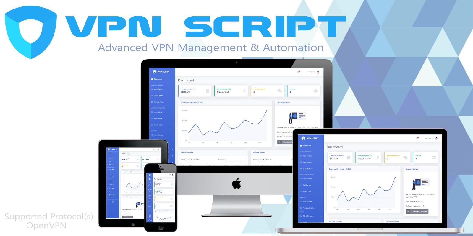 VPN Script - Advanced VPN Management Script