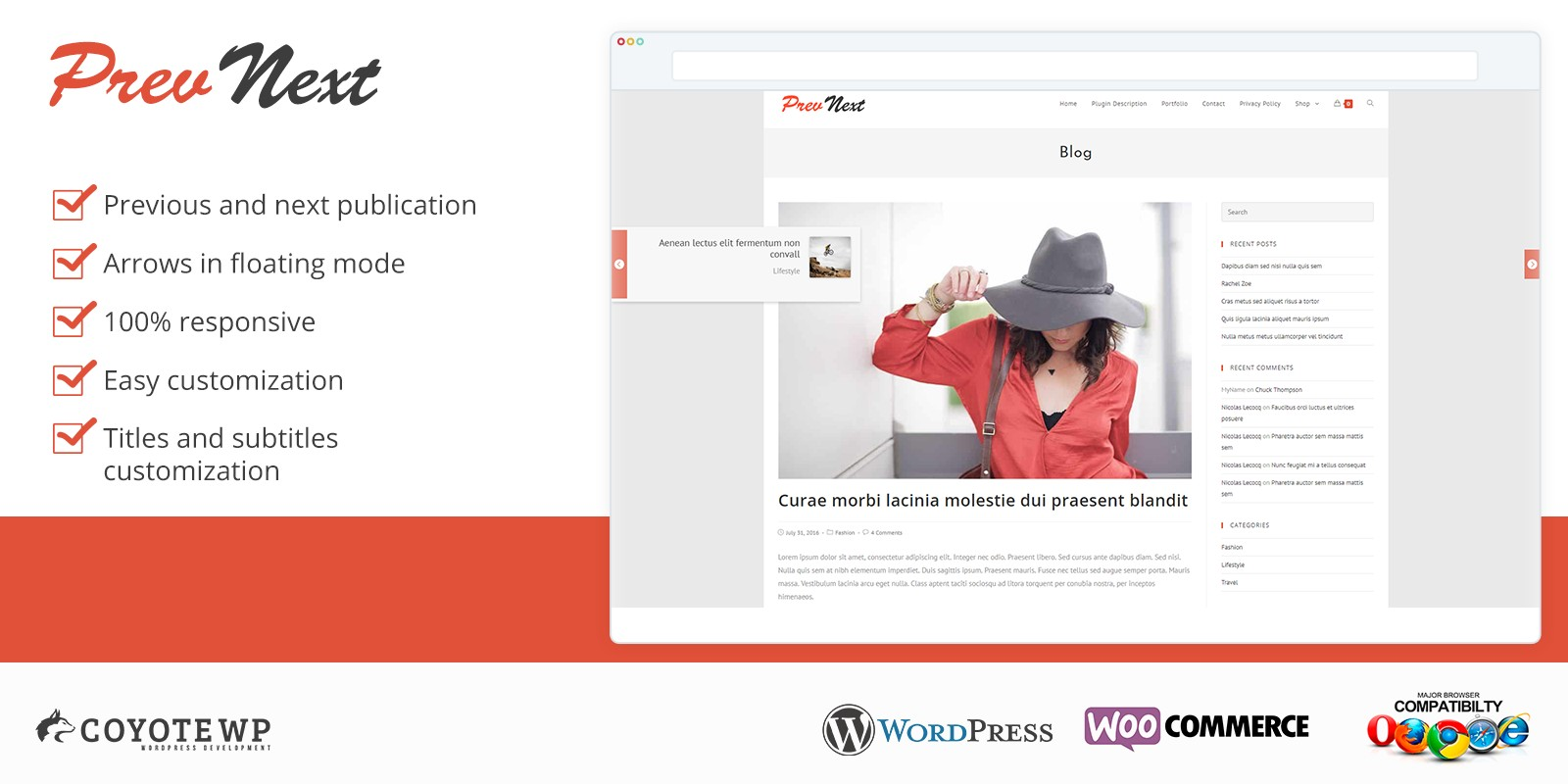Prev And Next - WordPress Plugin
