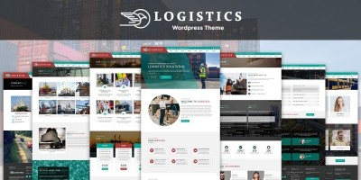 Logistics - WordPress Theme