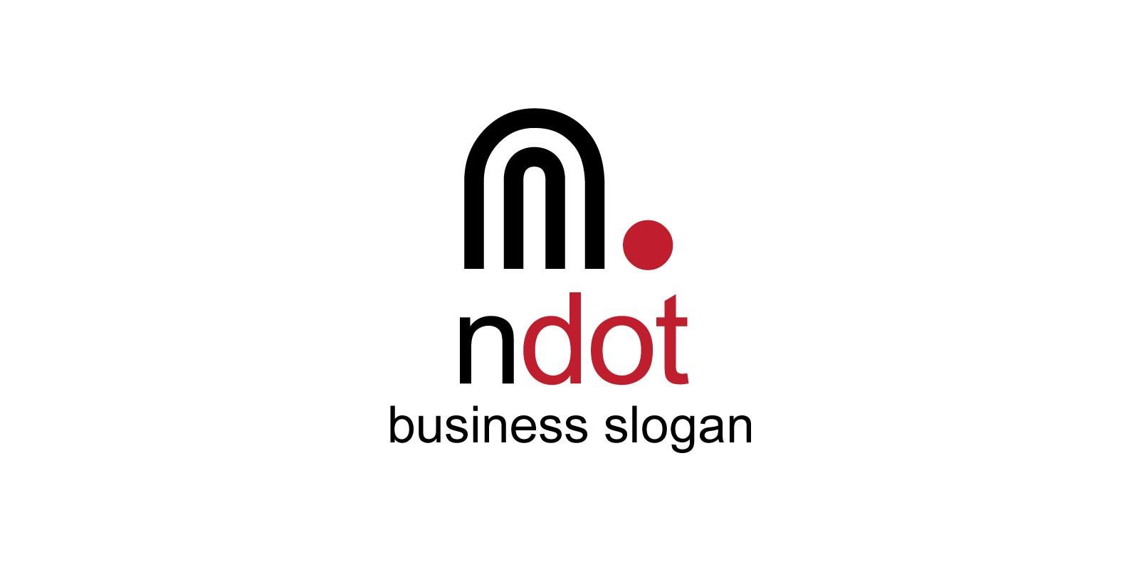 Ndot N Letter Logo