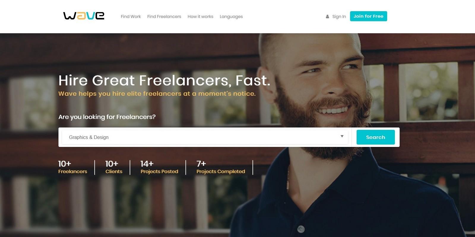 Wave - Powerful Freelance Marketplace System