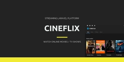 Cineflix - Movie Info PHP Script