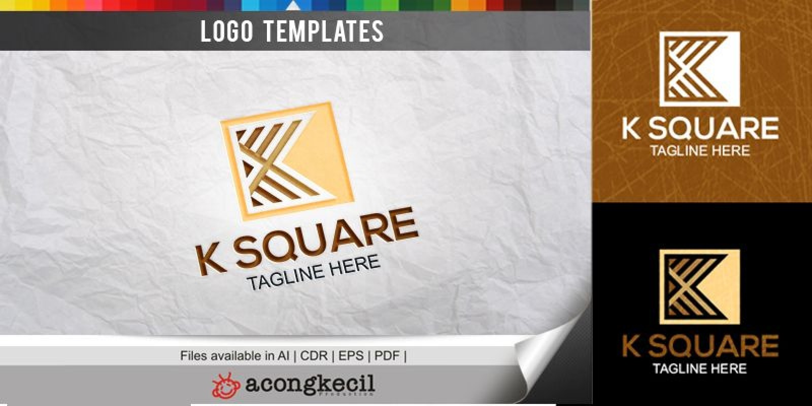 K Square - Logo Template
