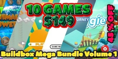 Buildbox Mega Bundle Volume 1