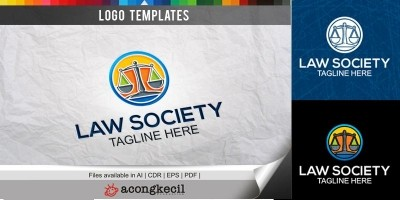 Law Society - Logo Template