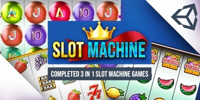 Slot Machine Unity Game