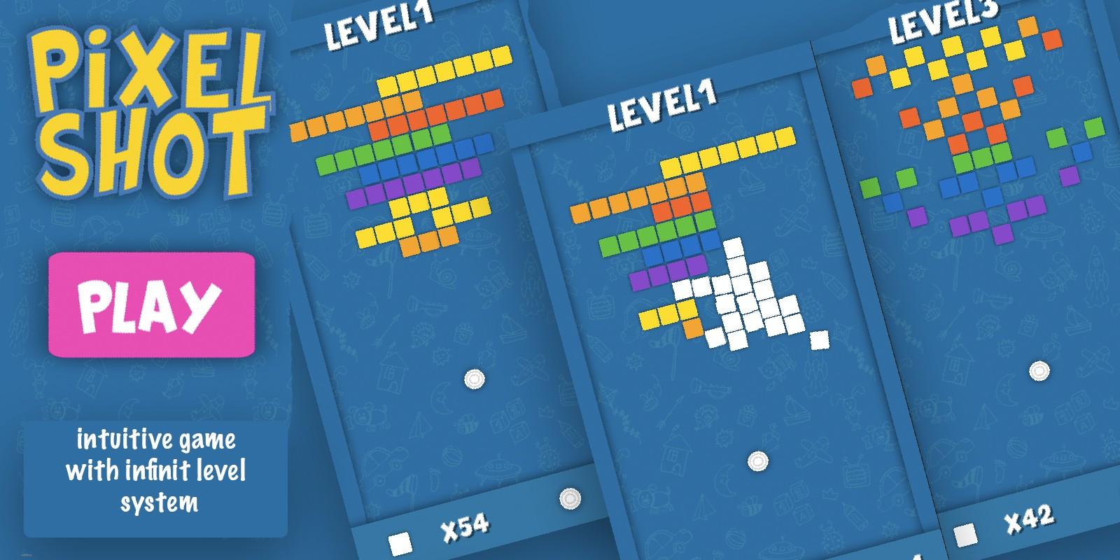 Pixel Shot 2D - Unity Project