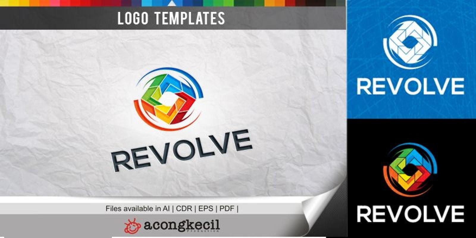 Revolve - Logo Template