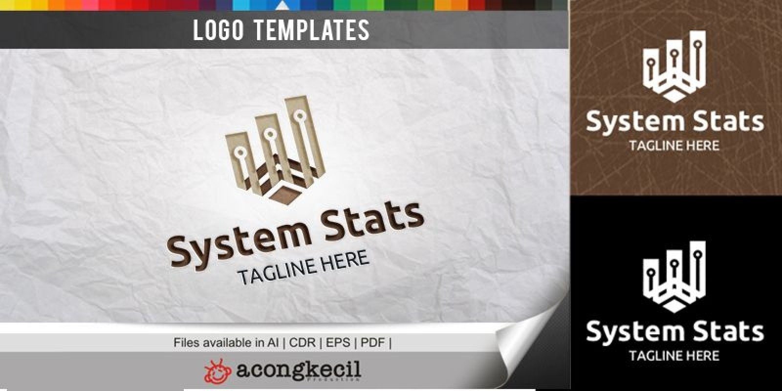 System Stats - Logo Template