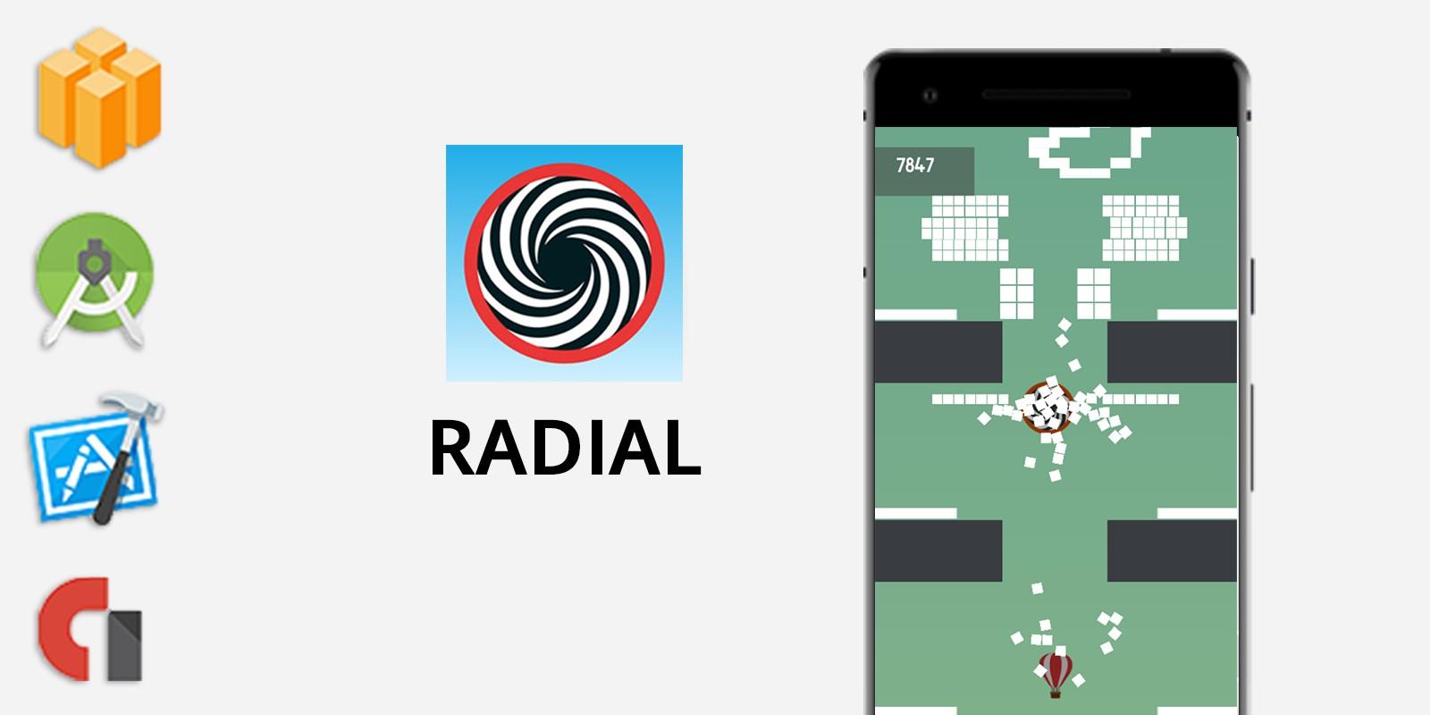 Radial - Buildbox Template