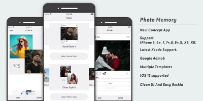 Photo Memory - iOS Source Code