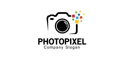Photo pixel Logo