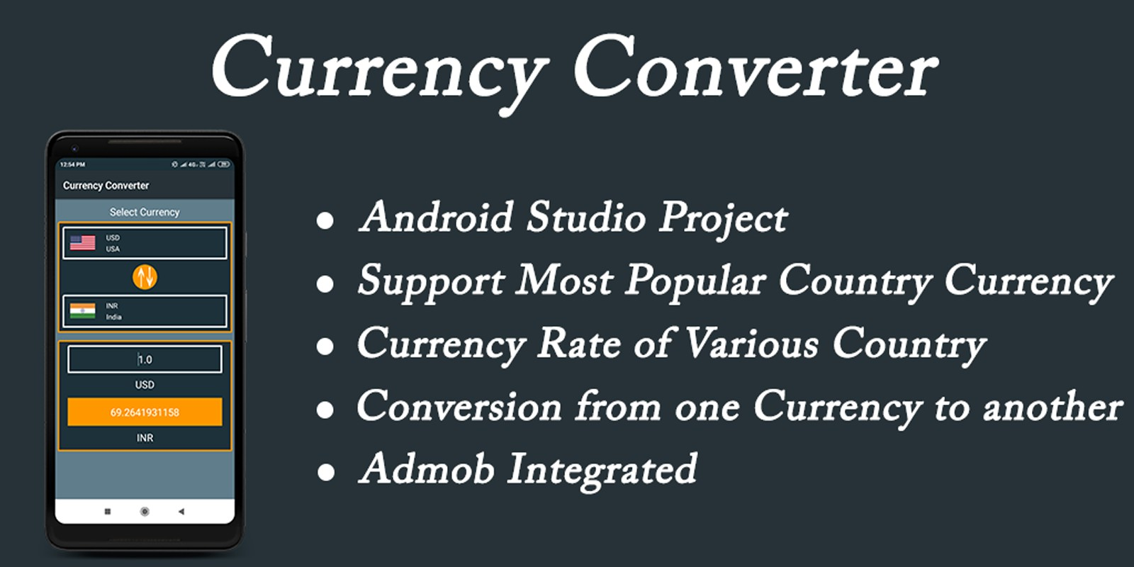 Currency Converter - Android Source Code