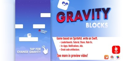 Gravity Blocks - iOS Source Code
