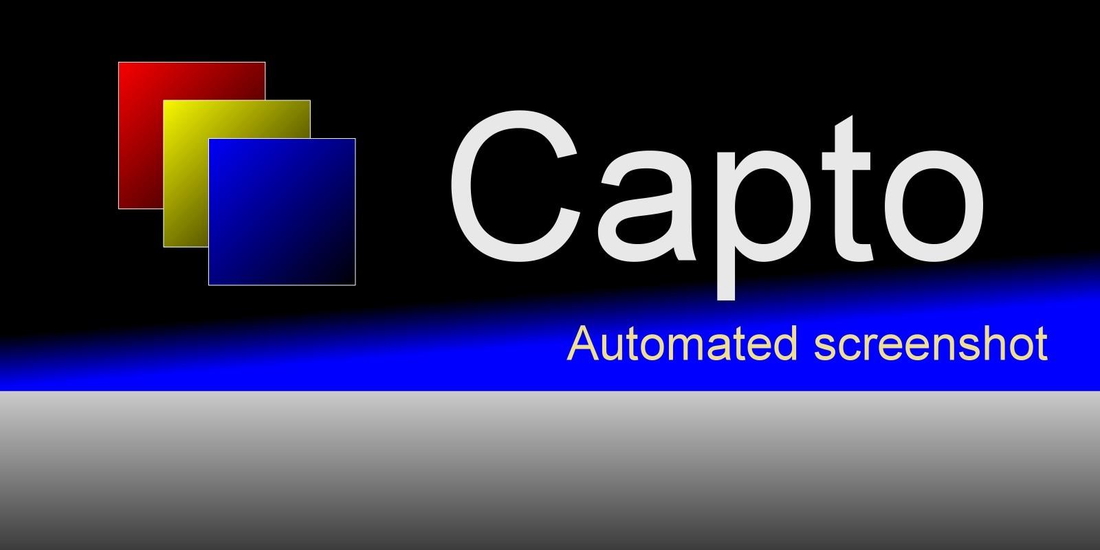 Capto - Automated screenshot .NET