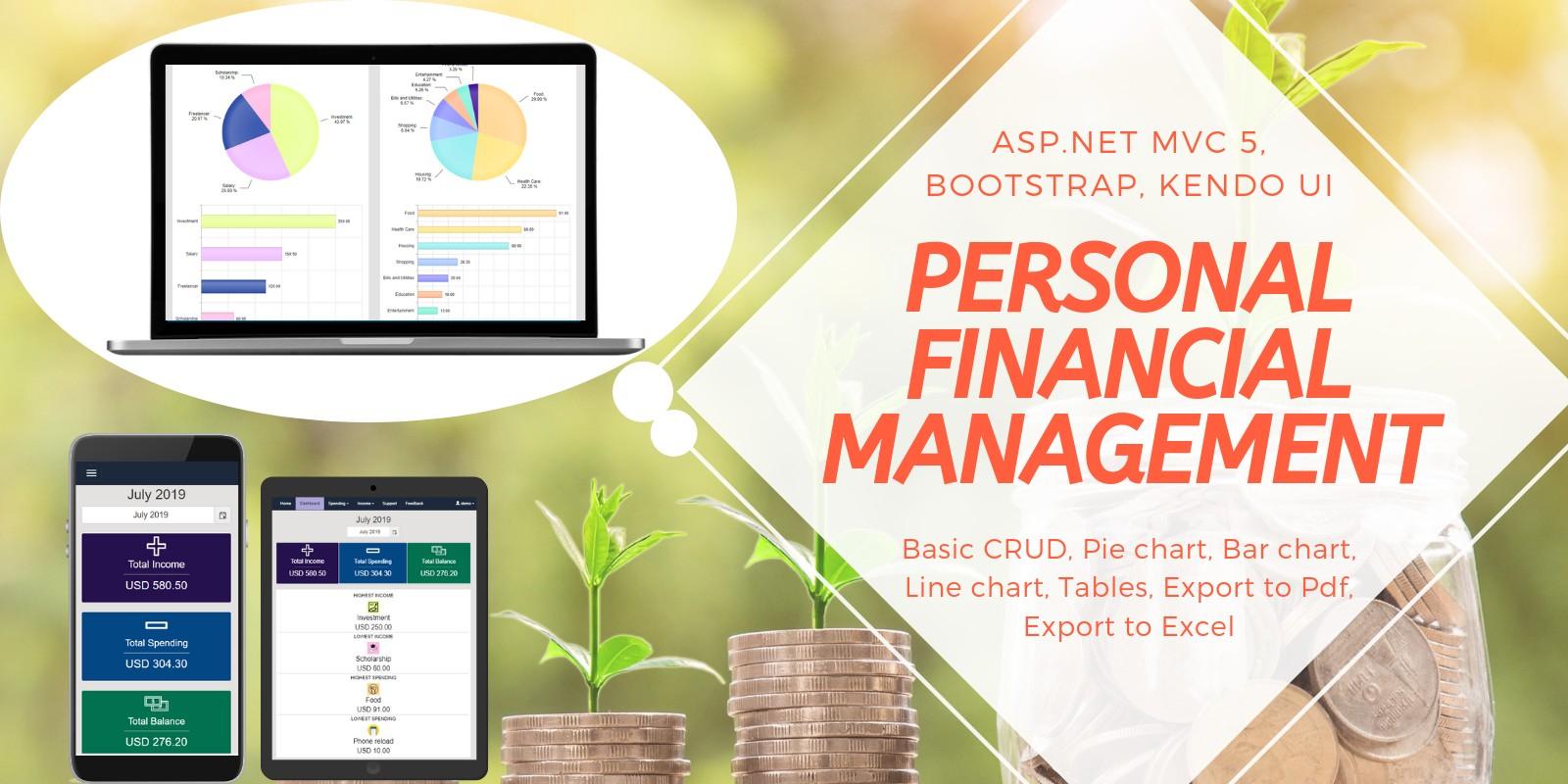 Financial Management ASP NET