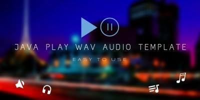 Java Audio Player Template