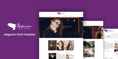 Fashion Queen - Fashion Clothing HTML Template
