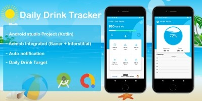 Daily Drink Tracker Android Source Code