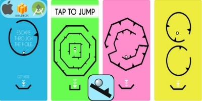 Shape Go Escape - Buildbox Game Template