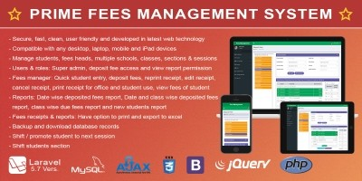 Prime - School Fees Management System