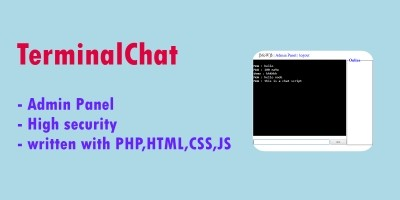 TerminalChat - PHP Script