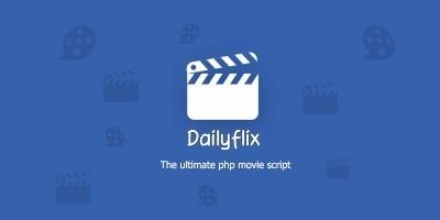 Dailyflix - Ultimate PHP Movie Script