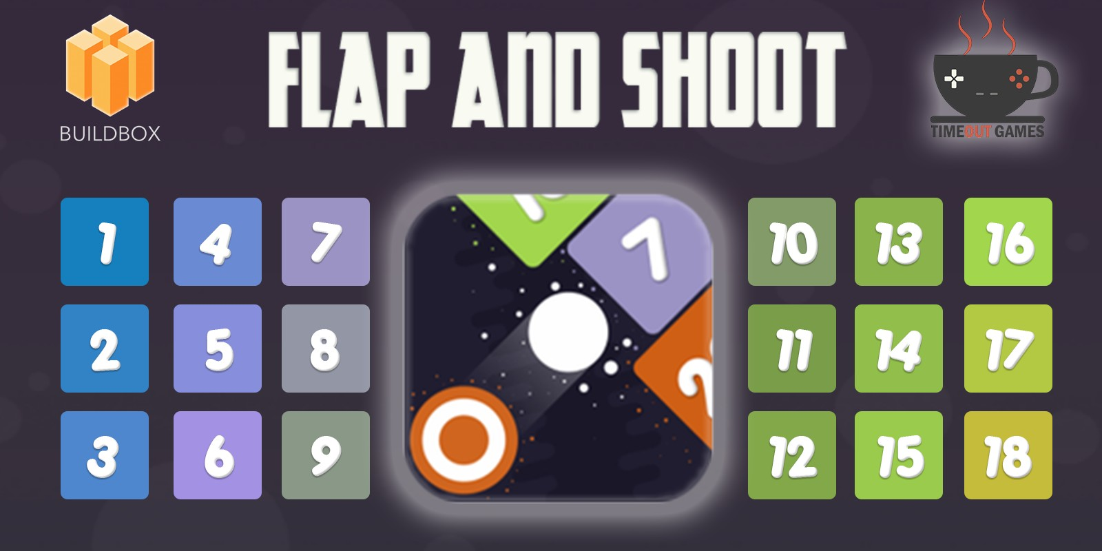 Flap and Shoot - Full Buildbox Game