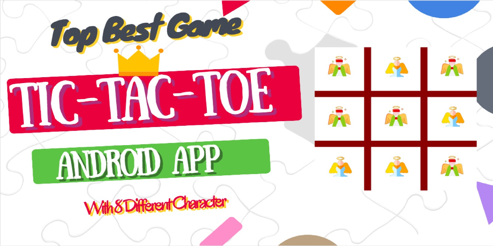 Tic Tac Toe King Game App