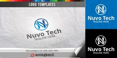 Nuvo Tech - Logo Template