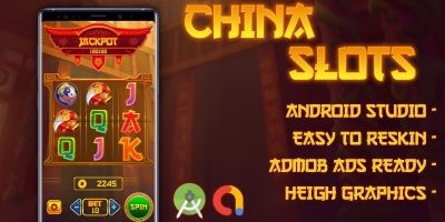 China Slot Machine with AdMob - Android Studio