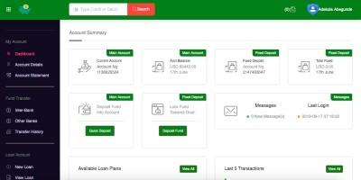 Online Bank Script
