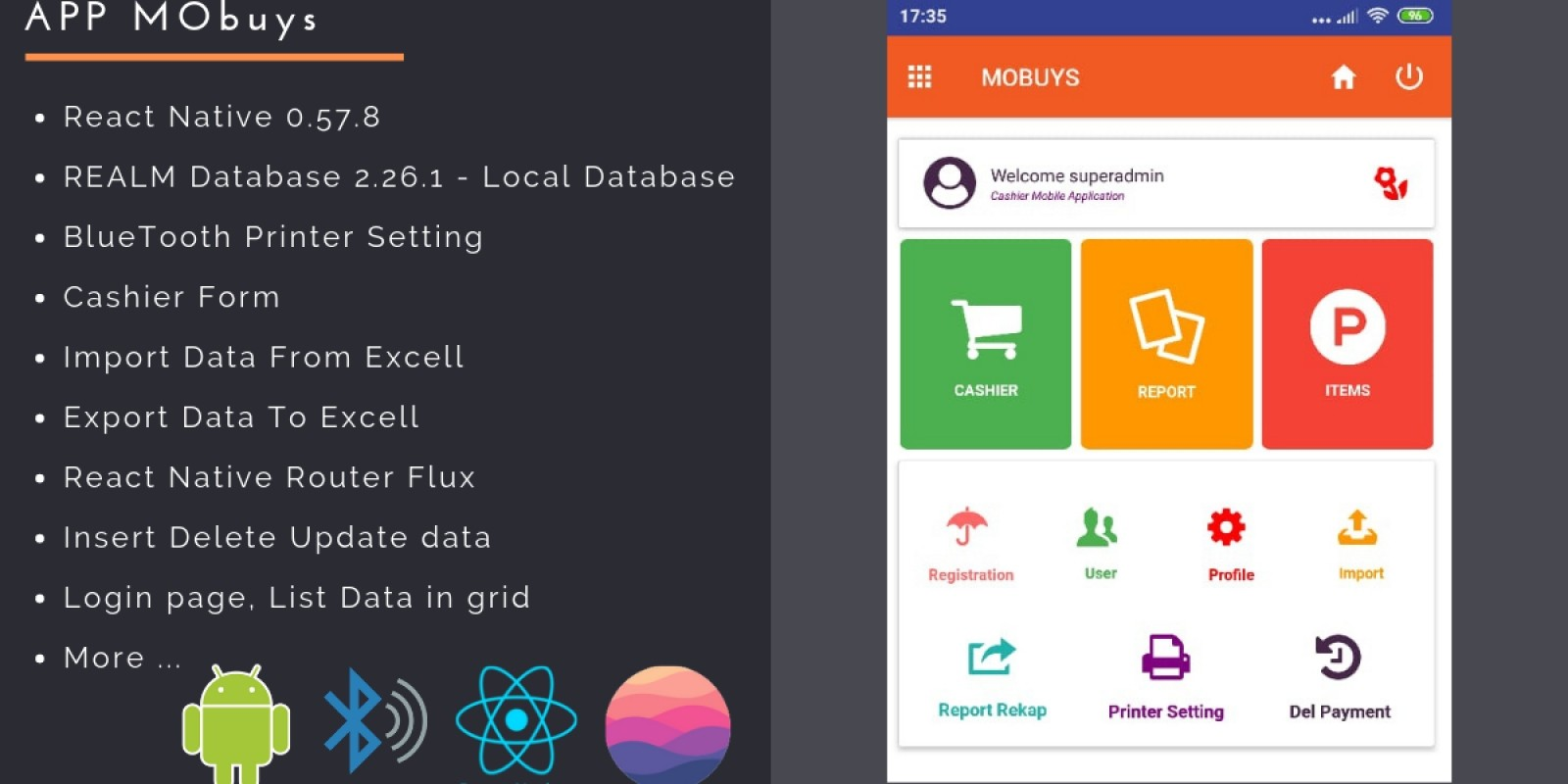 MoBuys - React App Template