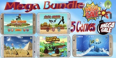 Mega Game Bundle -5 Android Games