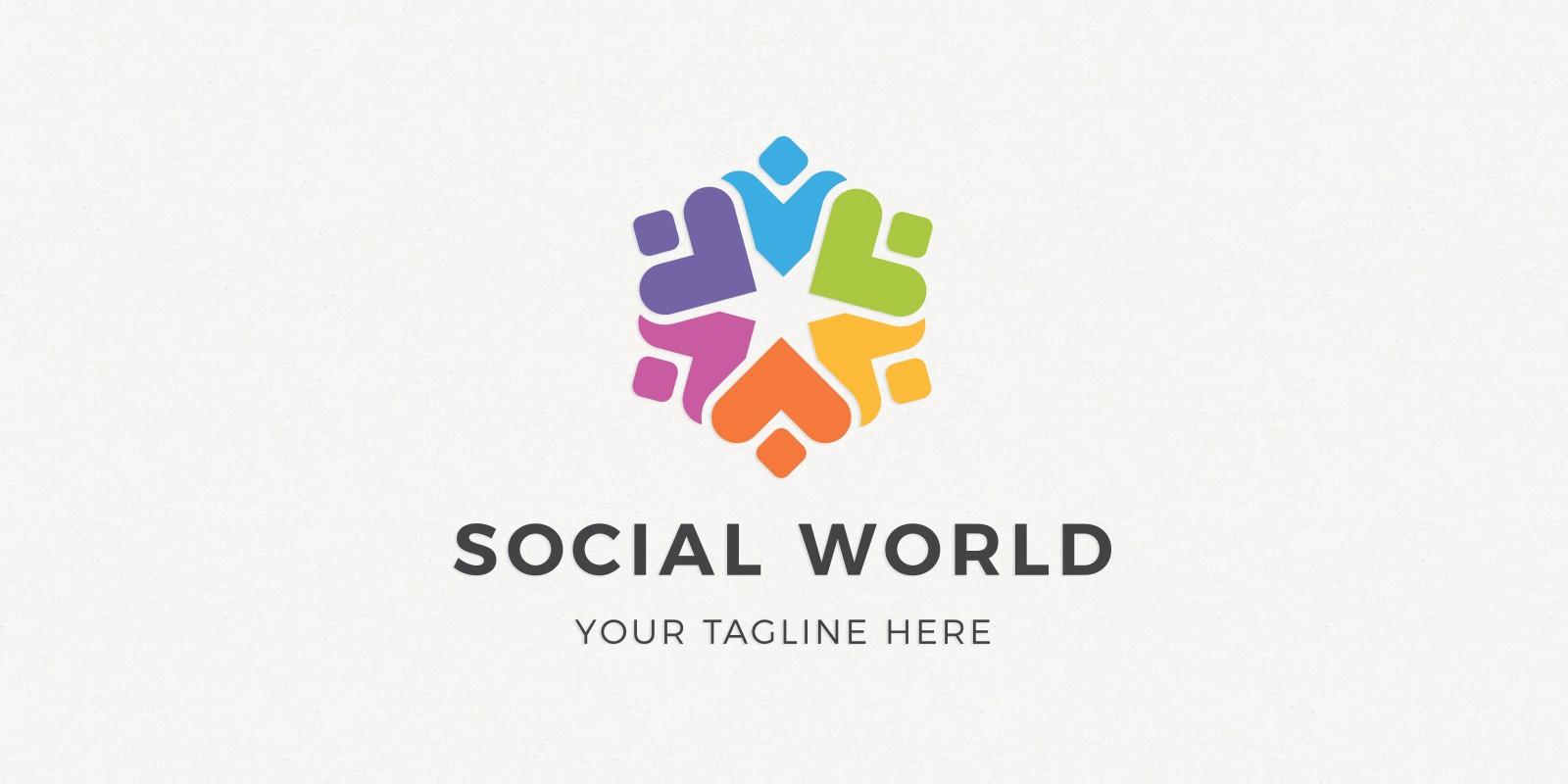 Social World Logo