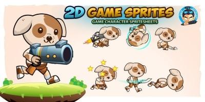 Dogie 2D Game Sprites