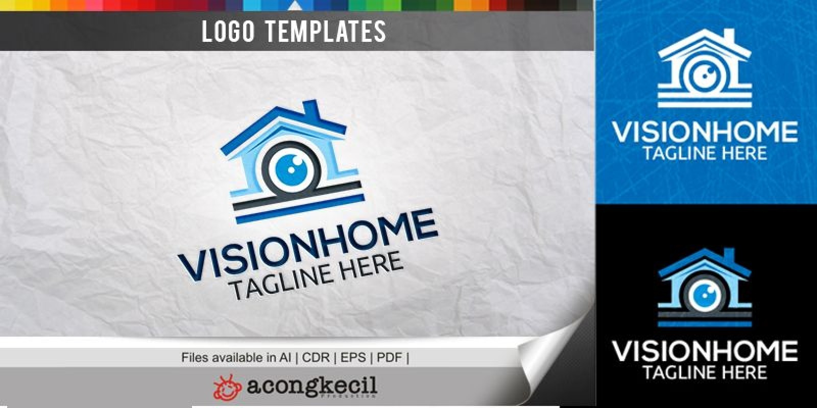 Vision Home - Logo Template