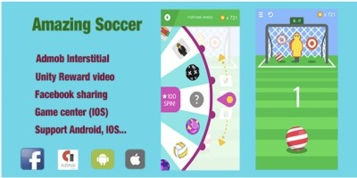 Amazing Soccer Game - Unity Game Template