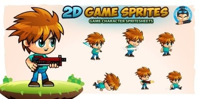 2D Game Character Sprites 187