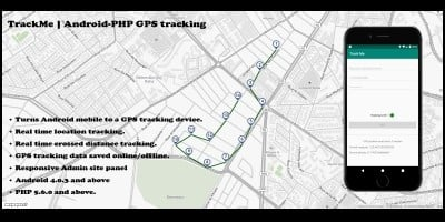 TrackMe Android PHP GPS Tracking