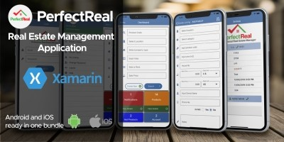 Real Estate Management Xamarin Without Backend