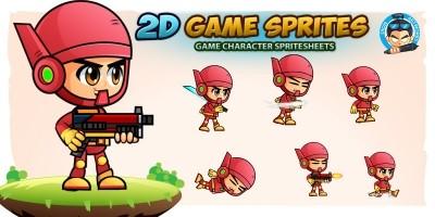 RJ001 2D Game Sprites