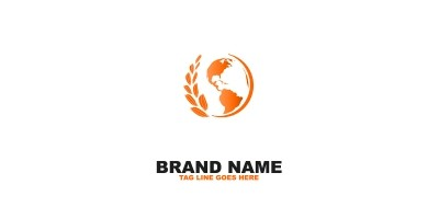 Wheat World Logo Template