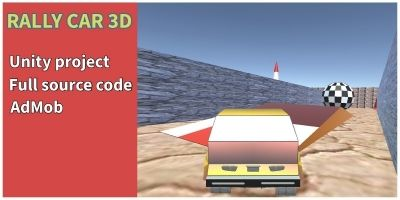 Rally Car 3D - Unity Game