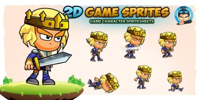 Prince 2D Game Character Sprites 216